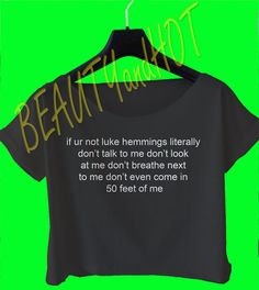 if ur not luke hemmings crop top 5 seconds of by beautyandhot