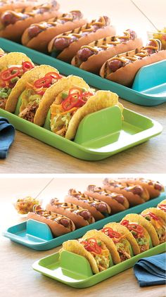 Stuffit Platter // Serve & Assemble Tacos Without Them Falling Over! #brilliant #love #useful