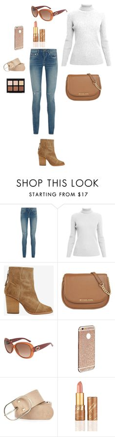 """Bez naslova #27"" by melisa-761 ❤ liked on Polyvore featuring Yves Saint Laurent, Rumour London, rag & bone, MICHAEL Michael Kors, Gucci, River Island, tarte, Anastasia Beverly Hills, men's fashion and menswear"