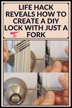 Diy Lock, Summer Life Hacks, Cold Mountain, Home Hacks, Repurposing, Lifehacks, Interesting Stuff, Home Remedies, Dyi