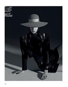 Hannah Ferguson Channels Femme Fatale Style for Vogue Arabia