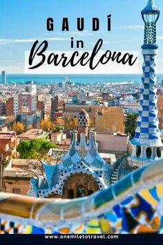 Works of Gaudi in Barcelona – Barcelona is one of the most famous cities in Spain and it is the unique architecture of Antoni Gaudí in Barcelona that has helped to make it a must-stop on any Spain itinerary #lovetotravel #howtotraveltheworld #whole30travel #howtotravel #travelinspo #ideastravel #placestotravel #totravel #travellife #travelloves #besttravelsites #dreamvacations #welovetravel #beautifultravel European Travel Tips, European Vacation, Travel Europe, Visit Barcelona, Barcelona Spain, Eurotrip, Best Travel Sites, Spain Travel Guide, Travel Inspiration