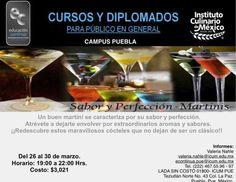 Sabor y perfección en martinis / ICUM / Puebla / 26 a 30 marzo
