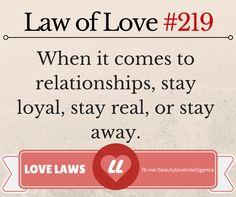 Love Law #219 #love #lovelaws #relationships