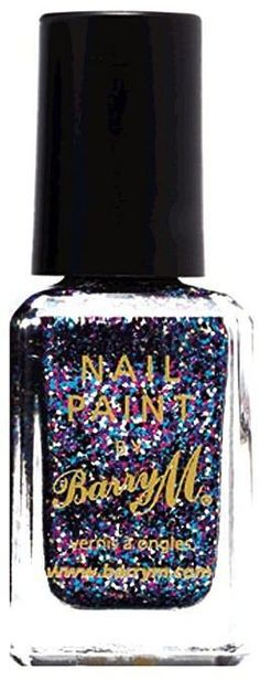 Pin for Later: Bring Some Festive Sparkle to Your Makeup This Party Season Barry M Glitter Nail Paint Barry M Glitter Nail Paint (£3)