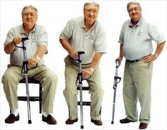 Getty-Up Stick / Giddy-Up Stick / Apollo Cane | Walking Cane with Standing Aide & LED Flashlight | EGAN Medical Equipment & Supply | Price = $50.00 | #mobility #canes