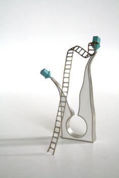 bijoux contemporains inspiration projet art bague ring blog de fda choses anneaux bijouterie la conception
