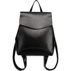 JeHouze Fashion Women Anti-Theft Shoulder Handbag Genuine Leather Backpack Casual Bag(Black)