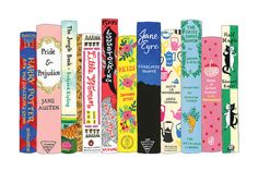 Lovely Classics Canvas Art Print by Ideal Bookshelf 16x20 Frame, Book Spine, Book Images, Book Nerd, Canvas Art Prints, Fine Art Paper, Cute Art, Custom Framing, Bookshelves