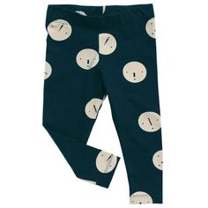Faces Pants in Navy by Tinycottons - Junior Edition