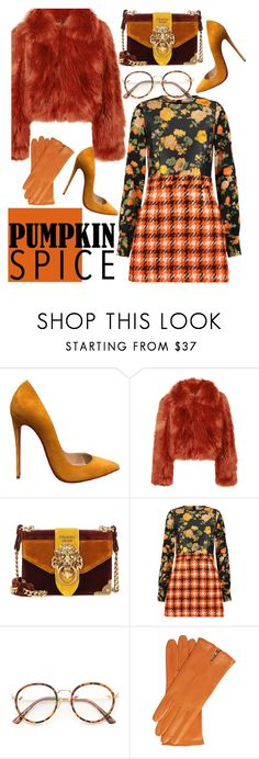 """""""Changing colors"""" by run-silent-run-deep ❤ liked on Polyvore featuring Christian Louboutin, Maison Margiela, Prada and MSGM"""
