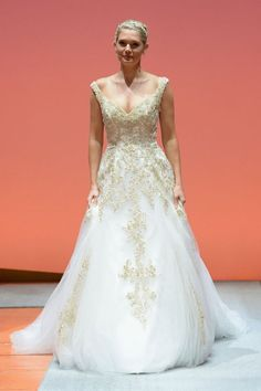 Rapunzel Inspired Gown - 2016 Disney's Fairy Tale Weddings by Alfred Angelo Wedding Dress Collection