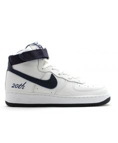 new style 7b8c0 f49fe Air Force 1 High B 20 Th White, Midnight Navy 624038-142