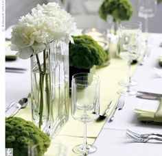 1000 Images About Rectangular Tables And Centerpieces On