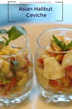 Asian Halibut Ceviche Pinterest