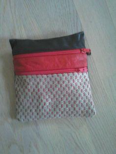 Vævet håndtaske