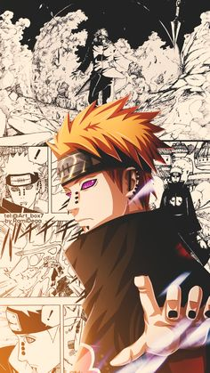 A gallery with the coolest fan art from Naruto, from fans to fans Naruto Kakashi, Pain Naruto, Anime Naruto, Naruto Fan Art, Anime Akatsuki, Madara Uchiha, Naruto Shippuden Anime, Boruto, Naruto Wallpaper