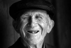 Smile of the elderly man, 1997