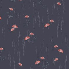 Charleston, Rainbrella in Shadow by Amy Sinibaldi for Art Gallery Fabrics Art Gallery Fabrics, Rag Quilt, Quilts, Red Umbrella, Cotton Quilting Fabric, Flower Boxes, Chara, Charleston, Trendy Tree