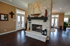 see through fireplace indoor outdoor - Google Search