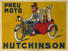 1907 C MICH PNEU MOTO HUTCHINSON