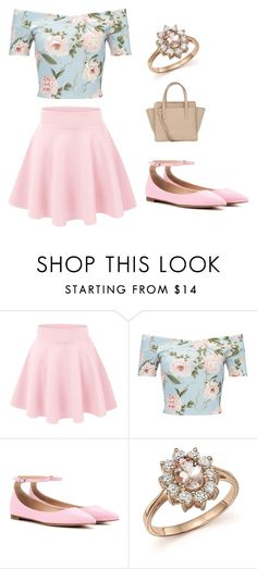"""""""Untitled #3"""" by melaniehenderson ❤ liked on Polyvore featuring Miss Selfridge, Gianvito Rossi, Bloomingdale's and Salvatore Ferragamo"""