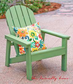 The Friendly Home: DIY Adirondack Chairs