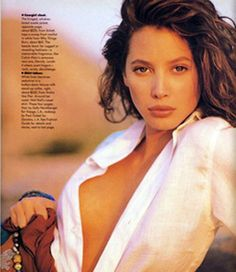 """At Close Range : Western Wear Turn Sexy"", Harper's Bazaar US, July 1988 Model: Christy Turlington Christy Turlington, Original Supermodels, 90s Models, 90s Hairstyles, Shooting Photo, Cindy Crawford, Sensual, Hair Inspiration, Fashion Photography"