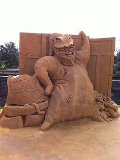 Oogie Boogie from The Nightmare Before Christmas - Sand Art