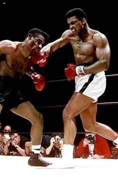 Muhammad Ali. Bad intentions.