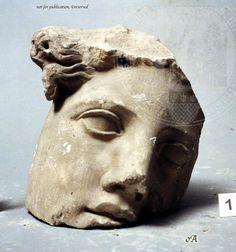 weiblicher kopf latium museo nazionale romano rom female head lazio museo nazionale romano rome