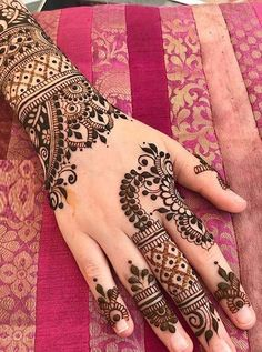 Are you looking for fresh and adorable mehndi or henna designs for 2018? We've tried our best to bring here a lot amazing designs of henna for brides to wear right now. You may choose one of the best henna art for you to make your hands look cute and prominent.