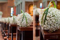 Hochzeit Kirchenfloristik - beautiful for the church or outdoors | weddstyle