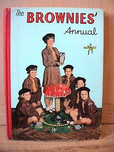 The Brownie Annual. Girl Guides. 1960.