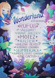wonderland on Behance