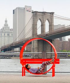 public art fund presents 'please touch the art', an exhibition by jeppe hein comprising 18 interactive sculptures including 'social' benches, rooms made of jetting water, and a dizzying mirror maze.