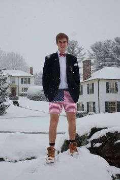"gunnerysmartncasual: Jake '14 Chubbies Fact #23: Chubbies in the wintertime is a no brainer. You'll say ""But won't my legs get cold??"" - T..."