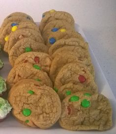 Holiday M&M Cookies   Challah with Dinner - Recipes for Every Meal of the Week