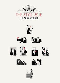The New Yorker Style issue on Behance