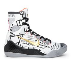 competitive price a5eb4 e62cf Nike Kobe 9 Flyknit Mid Gold Collection 630847-100 Sneakers — Basketball  Shoes Kobe 9