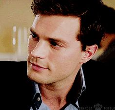 """Chapter Two: """"Unicorn...What?"""" The smile that creeps on Christian's face when Ana says the drink's name is 'Unicorn Jizz'."""