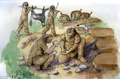 Neanderthals were a house-proud race who liked creature comforts, cave excavations reveal Scientists from Oxford University discovered stone tools and meal left-overs from over 24,000 years ago By analysing them they discovered how different caves were used  Scientists think the scarcity of large vertebrate remains from Gorham Cave show our ancestors were pretty handy at housekeeping