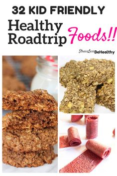 Starting to get antsy at home and want to start planning your next road trip? Check out these awesome home made healthy road trip foods that kids will love! Healthy, vegan, and not too messy, either! The perfect healthy kid snacks! Healthy Kids Snacks For School, Ways To Eat Healthy, Kid Snacks, Oatmeal Breakfast Bars, Sweet Potato Muffins, Dried Bananas, Road Trip Snacks, Coconut Peanut Butter, Breakfast Photo