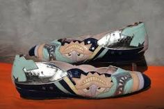 Image result for art deco shoes flats