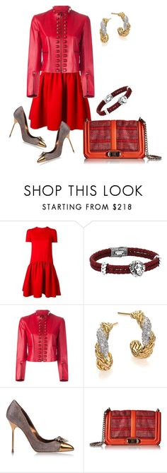 """""""it is not one or the other..... it is both ...."""" by awewa ❤ liked on Polyvore featuring Alexander McQueen, Fendi, John Hardy, Sergio Rossi and Rebecca Minkoff"""