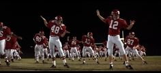 Remember the Titans - team dance...one of my favorite scenes from the movie!!
