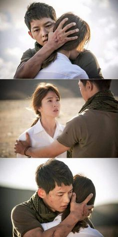 OMG this moment right here!! So many feels!!!!! Descendants Of The Sun