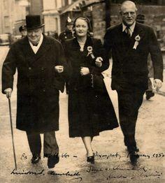 Winston Churchill and Randolph Churchill