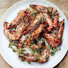 Prawns are great for grilling because they're much larger and have a slightly thicker shell than your average shrimp, offering insurance against overcooking.