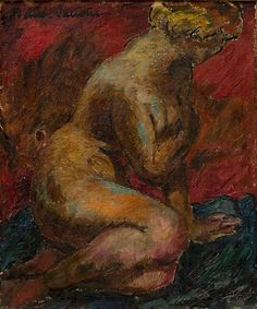 Nude, 1919 - Wäinö Aaltonen (1894–1966) Photo Art, Female, Nudes, Painting, Photos, Painters, Pictures, Painting Art, Paintings